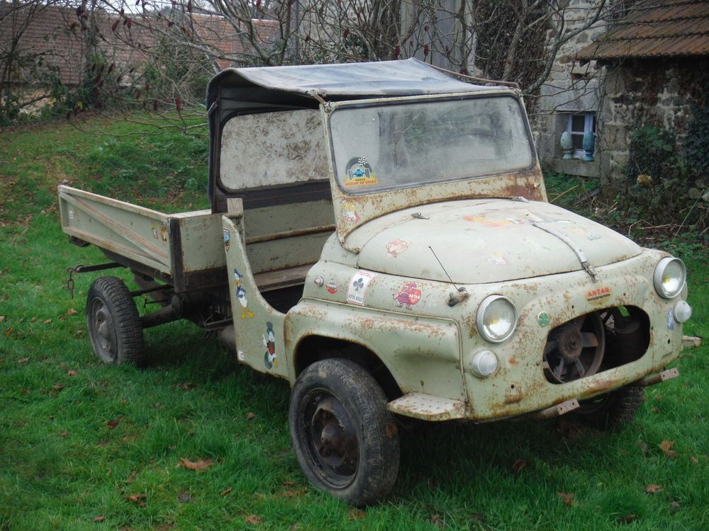 Fiat 500 2CV Steyr Puch Pickup W Tipping Bed 5669km Barn Find
