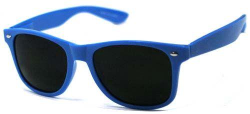 Clash Elvis Costello Wayfarer Style Cheap Sunglasses BLUE