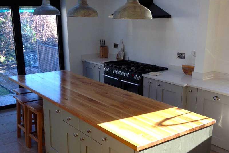 Innova küchen ~ An innova malton light grey shaker kitchen real customer
