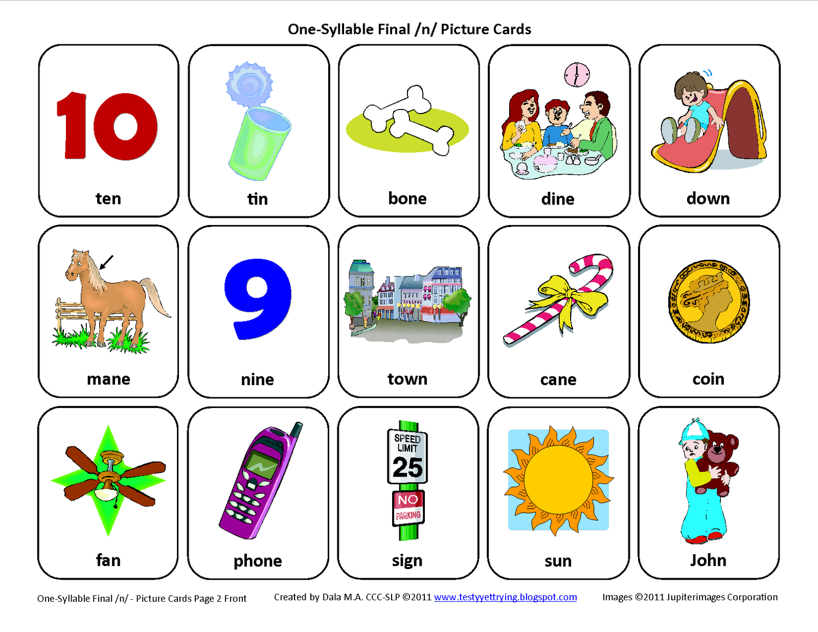 N Words Worksheets Cvc Words