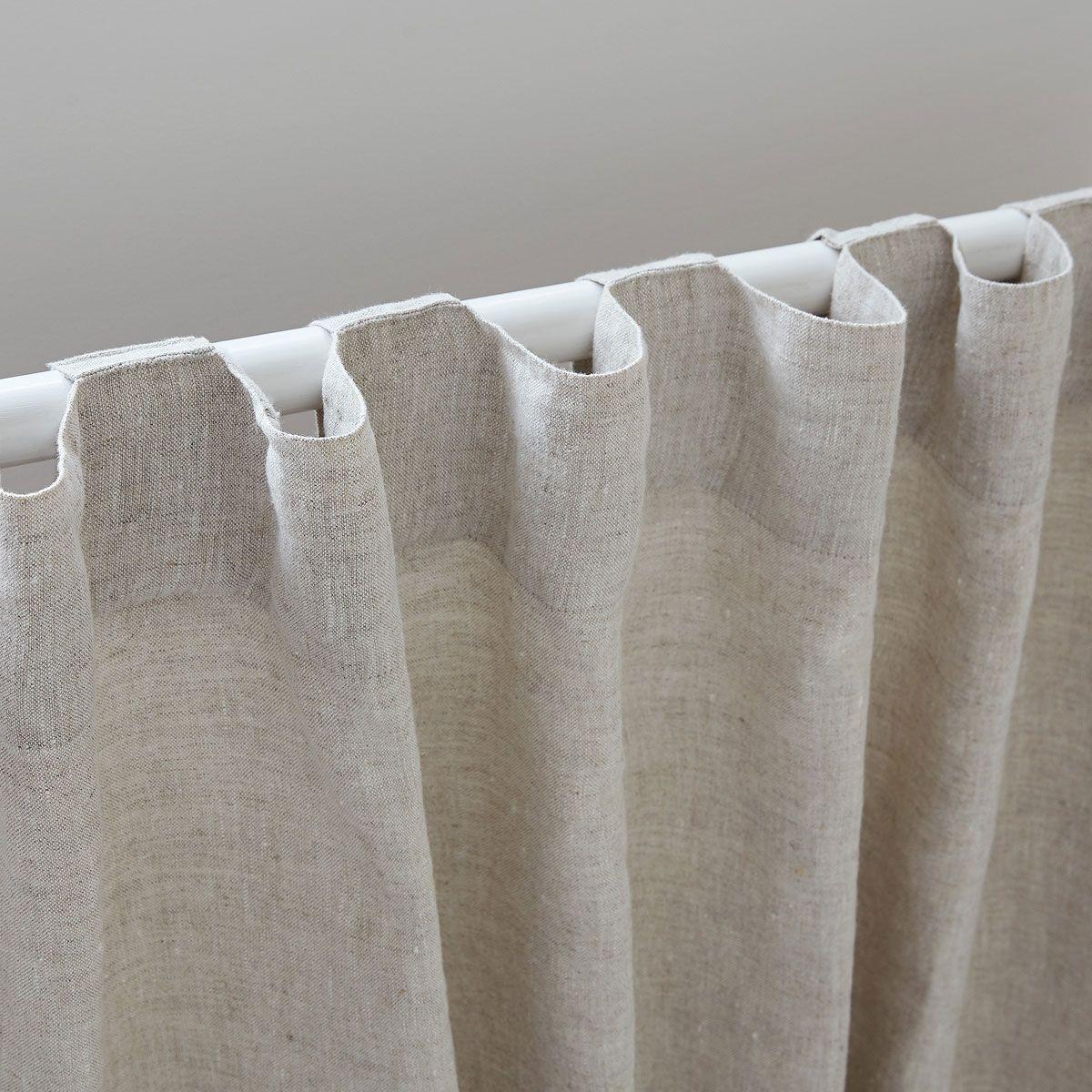 Cortina de lino lavado cortinas dormitorio zara home m xico depto in 2019 cortinas - Cortinas de dormitorios ...