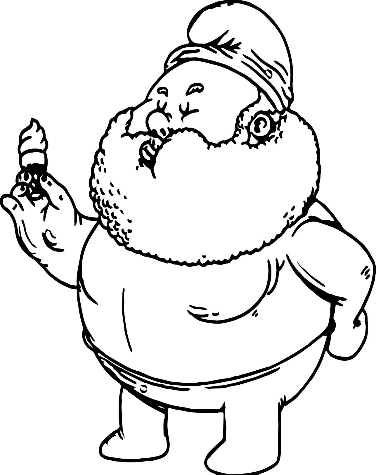 awesome Chunkies Papa Smurf Coloring Page | wecoloringpage | Pinterest