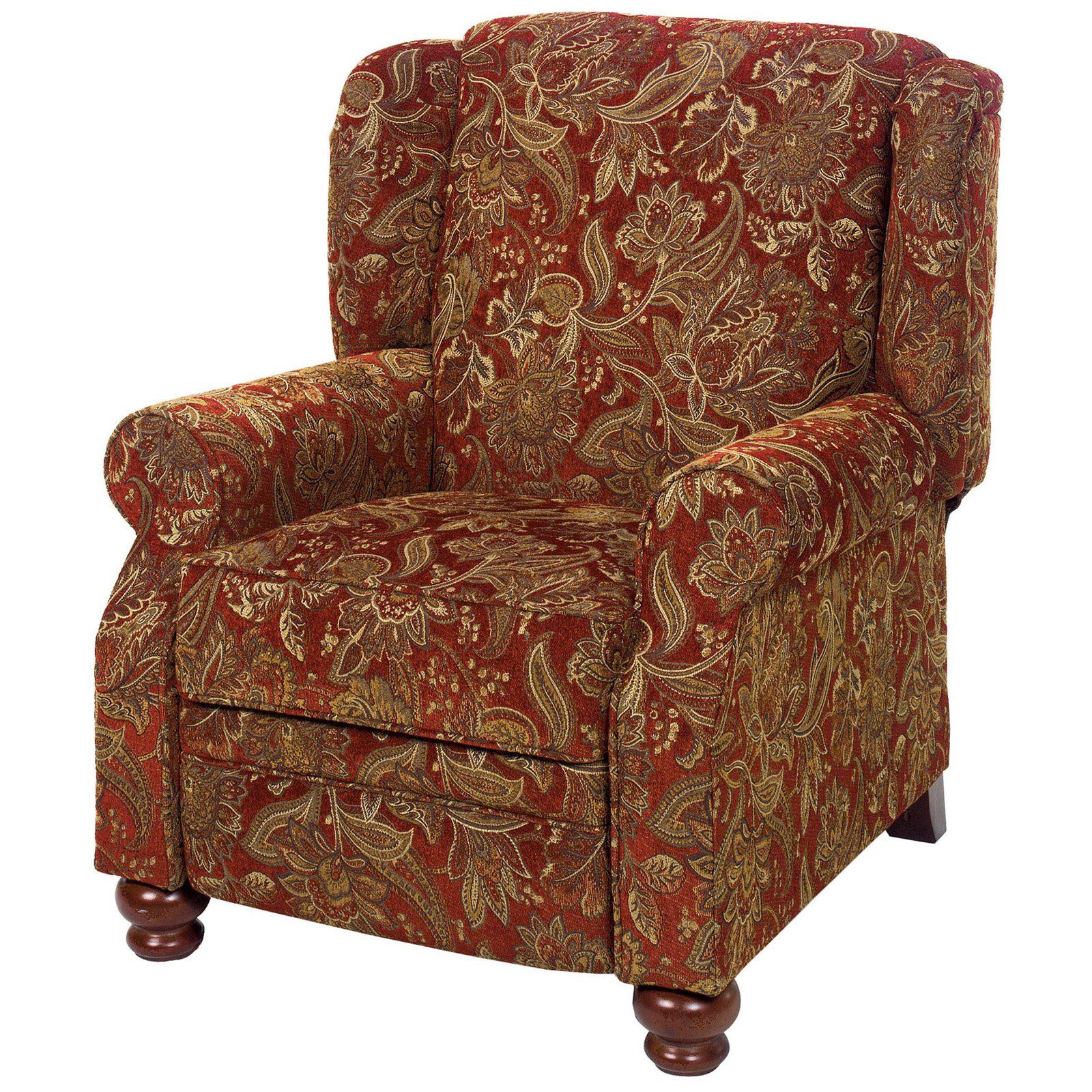 Jackson Belmont Accent Push Back Recliner 4347 11 Fabric
