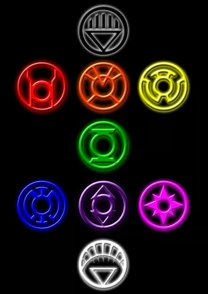 All The Lantern Rings Symbols Pinterest Lantern Rings
