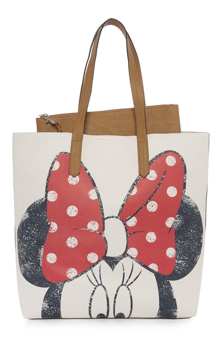 primark minnie mouse tote shopper bag primark. Black Bedroom Furniture Sets. Home Design Ideas