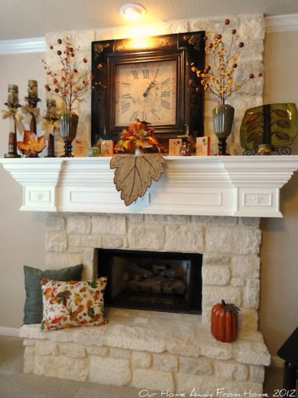 Nice way to decorate for fall