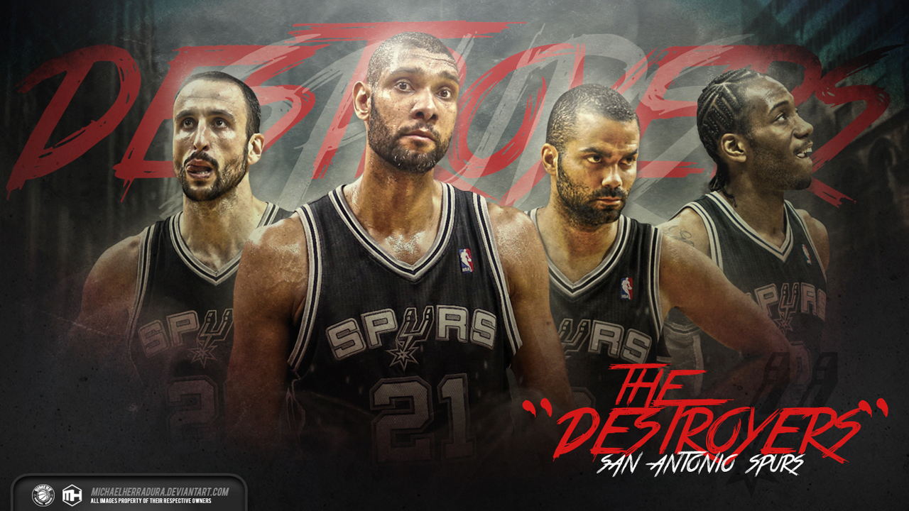 Spurs Desktop Wallpaper San Antonio Spurs Streetball San