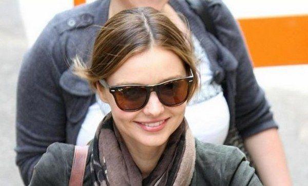 ray ban sunglasses 2140  Miranda Kerr\u0027s Ray-Ban Wayfarer 2140 Sunglasses