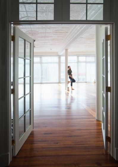Breathing Room A Yoga Studio In Downtown New Haven Is A Breath Of Fresh Air For All Looking To Expand Their Yog Yoga Studio Yoga Studio Design Pilates Studio