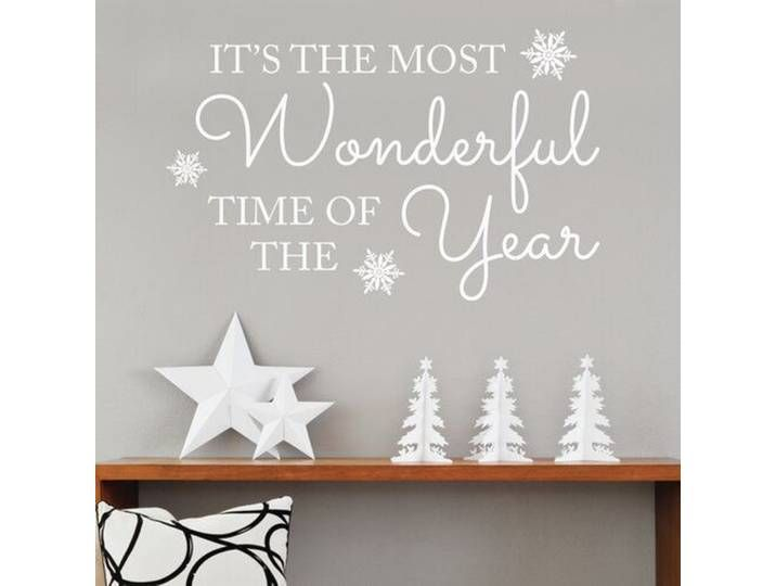 Wandsticker It's the Most Wonderful Time of Year #magnoliachristmasdecor