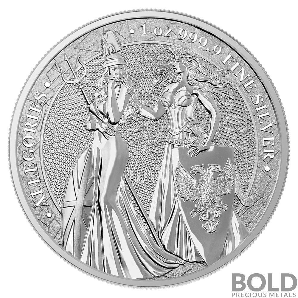 Allegories Germania And Britannia Coin Silver Bullion Coins Bullion Silver Bullion