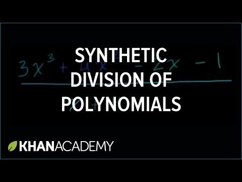 Synthetic Division Polynomial And Rational Functions Algebra