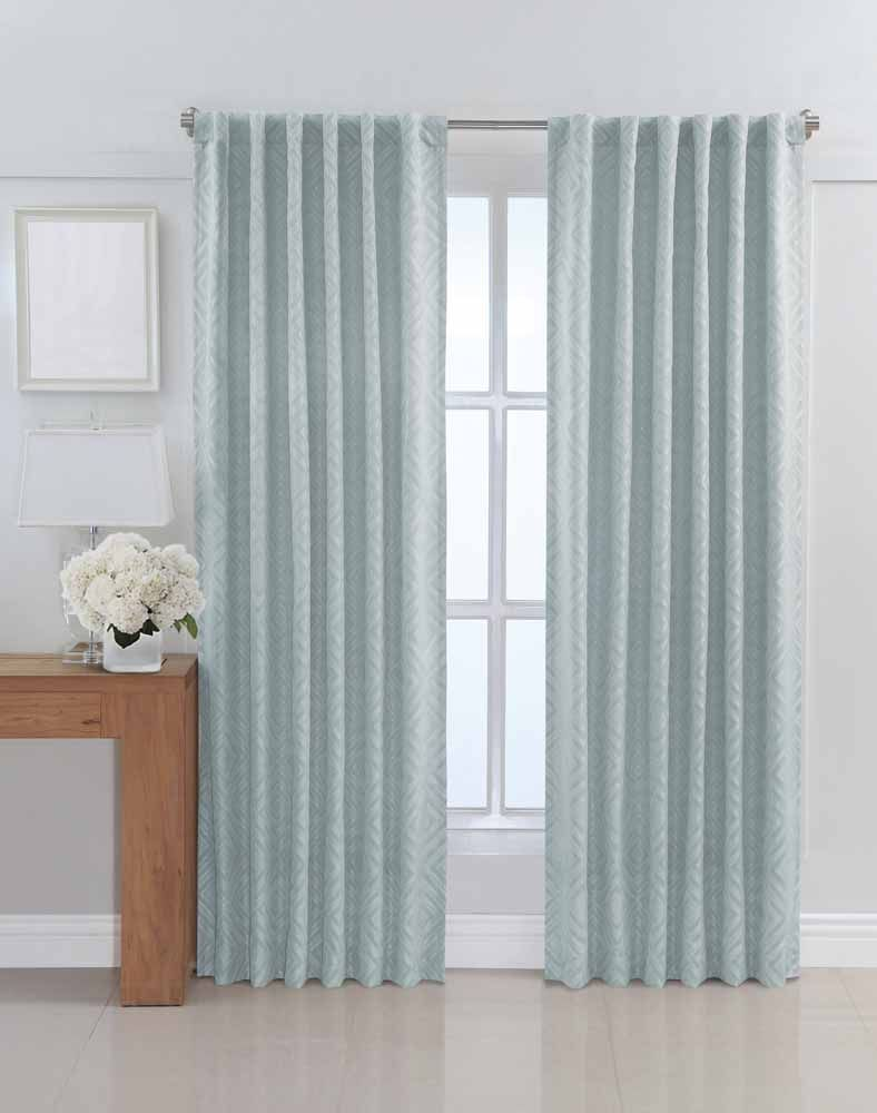 Back tab curtains on traverse rod - Back Tabs That Create The Dynamic Look Of Pleats What Does This Mean Could You Use Tab On Traverse Rod Clips Pleated Curtains And Drapes