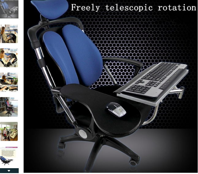 360 Rotating Adjustable Keyboard Mouse Arm Rest Computer Stand Laptop Tray Laptop Mouse Ergonomics