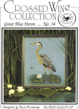Crossed Wing Collection North American Favorites No 3 Birds Cross Stitch Pattern Chart