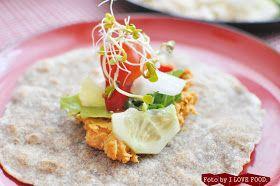 I love food: Tortilla fit i nachos fit w jednym :)