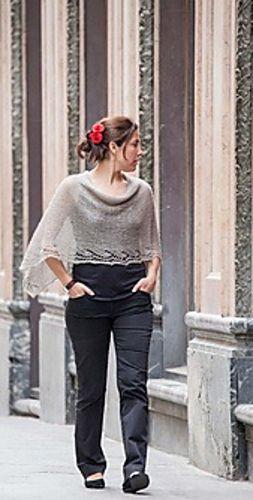 Ravelry Gloriams Poncho Lace English Version Free Knitting