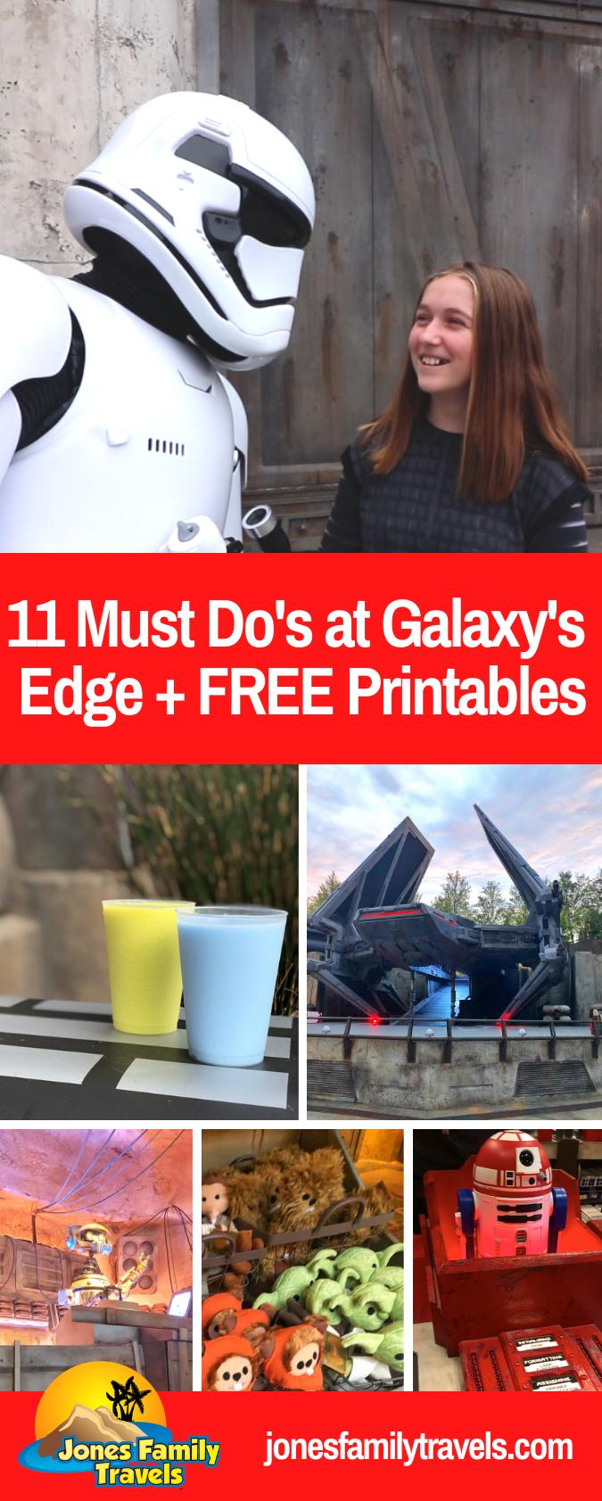 Photo of 11 Must Do's bei Galaxy's Edge in Disneyland oder Disney World + KOSTENLOSE Ausdrucke