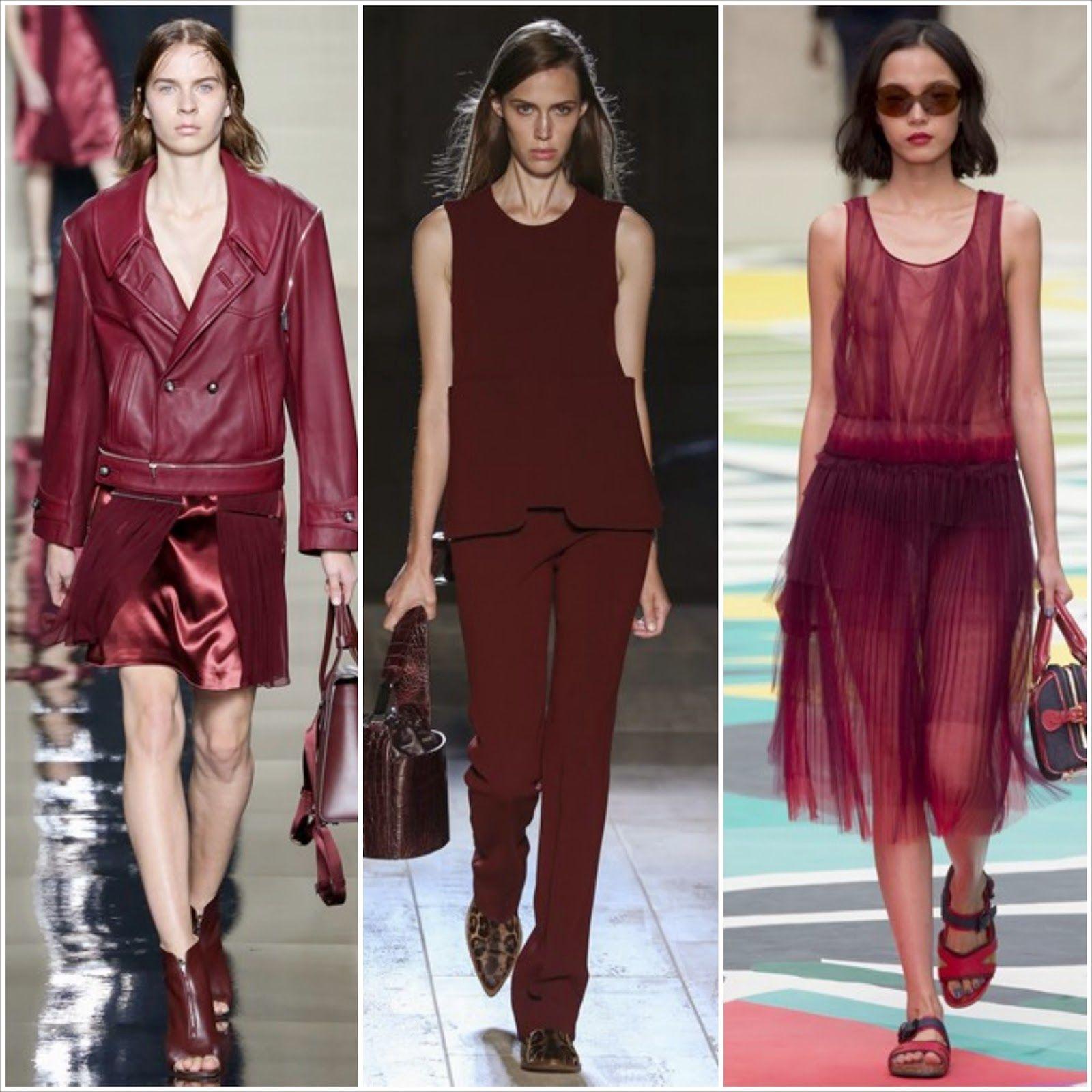 Ka Friedmann: Inspirações para usar a cor de 2015: Marsala