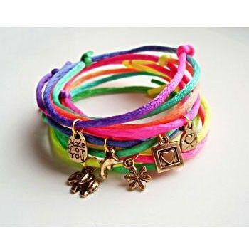 Neon Shadow Pack Bracelet