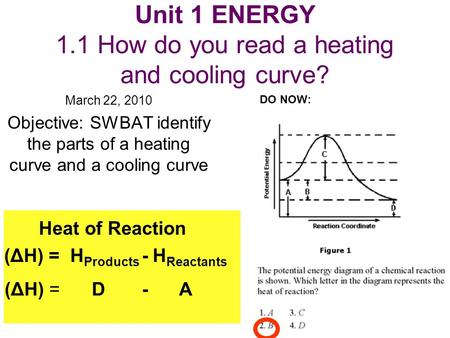 Unit 1 Energy 1 1 How Do You Read A Heating And Cooling Curve In 2020 The Unit Heat Energy Heating And Cooling