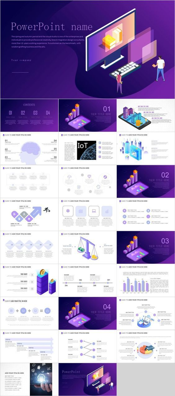 Creative technology PowerPoint template--The highest quality PowerPoint Templates and Keynote Templates download- #powerpoint #template #ppt #design #PPT디자인 #infographic #art #presentation