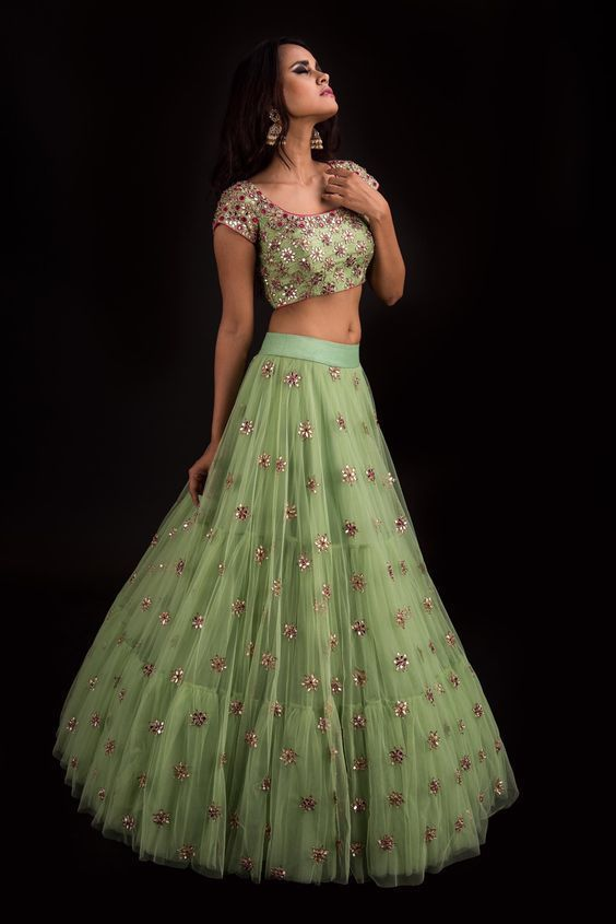 ac7b85e42ba Mrunalini Rao s latest collection Banjara is out and its the perfect pick  if you re looking for a princess fairytale kind of a dreamy wedding.