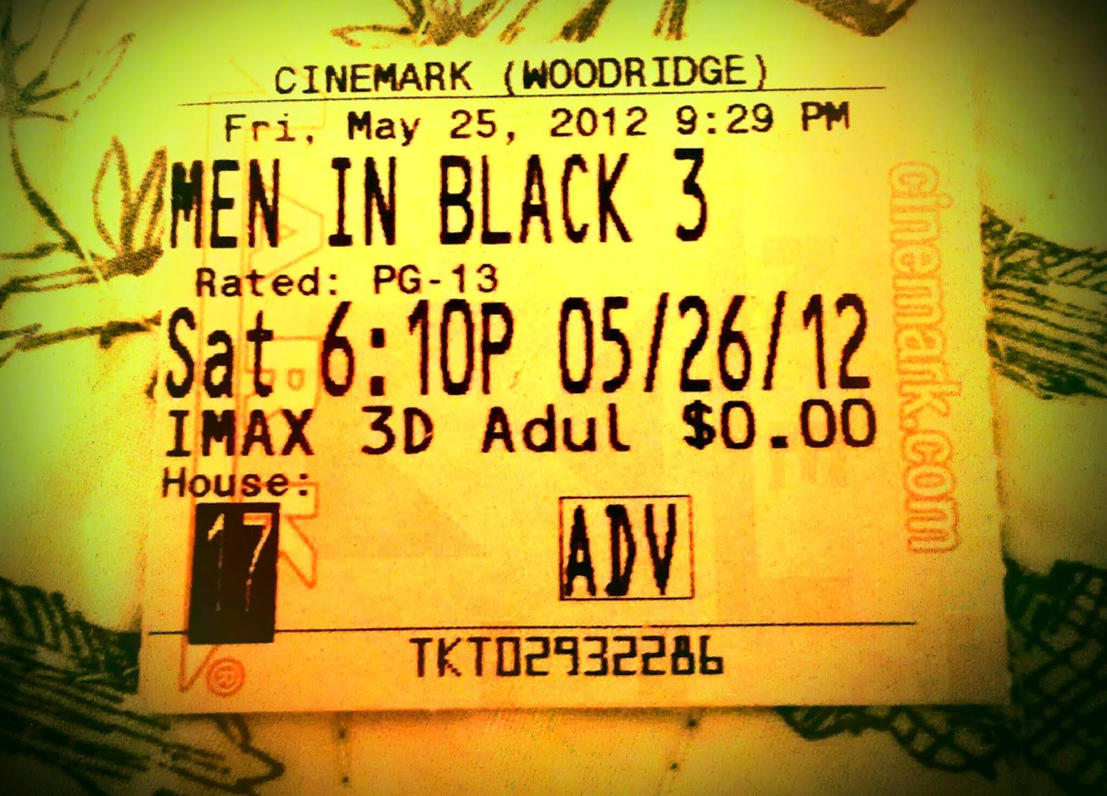 Reviews You Can Use: Men In Black III