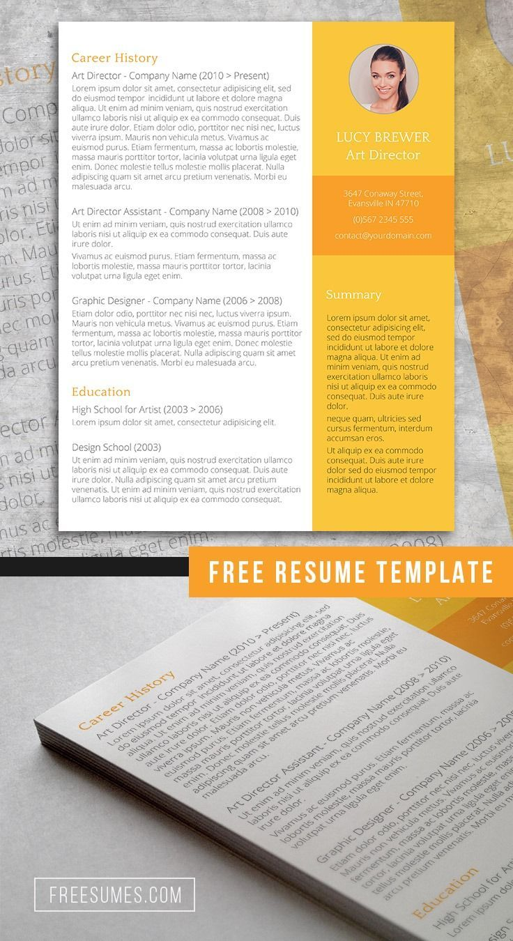 The Perfect Day Free Resume Template for Word (With