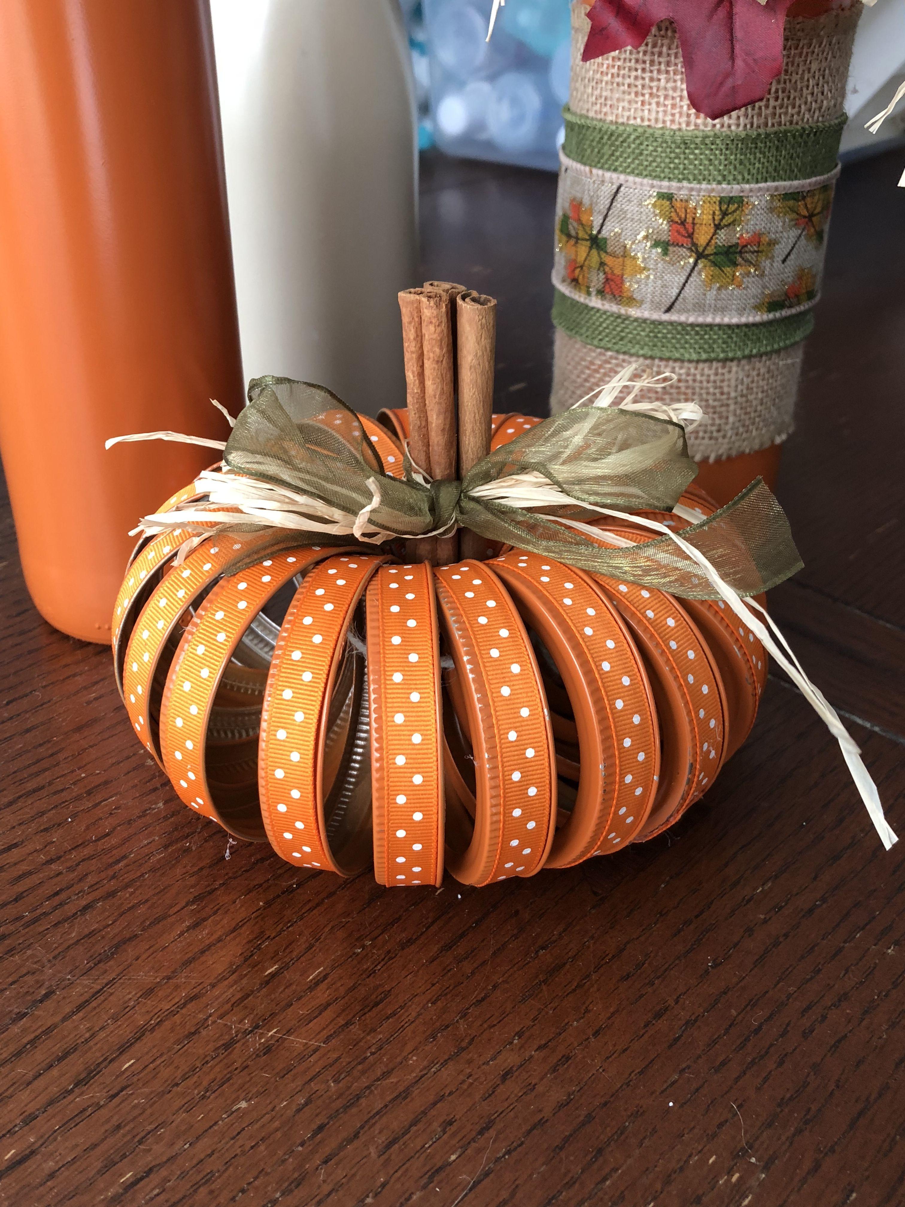 47++ Mason jar lid fall crafts ideas