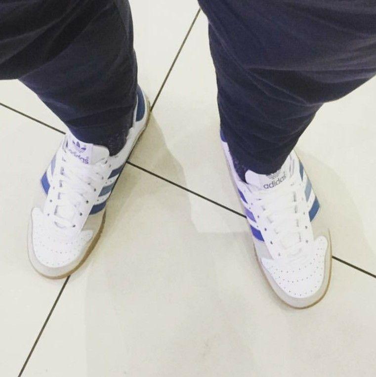 Adidas Spezial Indoor Comp on feet on the street.. | Adidas