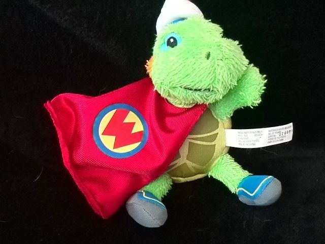 Wonder pets Tuck the turtle 7 inch plush Fisher