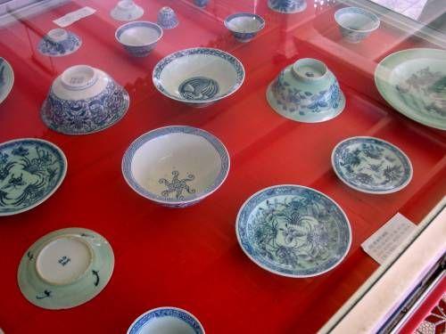 Malacca Nonya Porcelain Punch Bowls Antiques