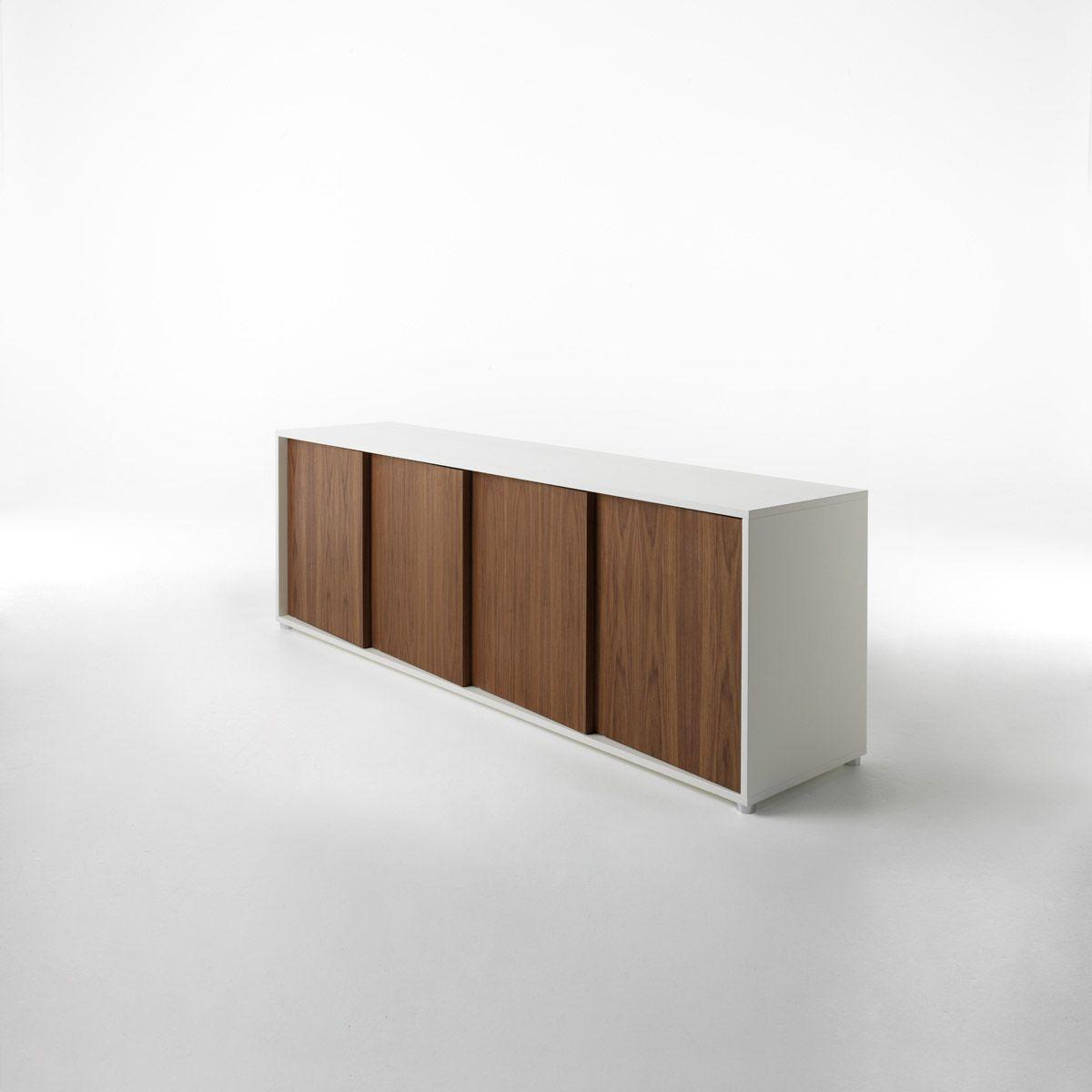 Oblique Contemporary sideboard, Sideboard designs, Sideboard