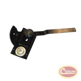 Window Regulator Left Replaces Part 55074991 Fits Jeep Wrangler 1992 1995 W Full Steel Doors Left For 1976 1 Steel Doors Jeep Wrangler Jeep Cars