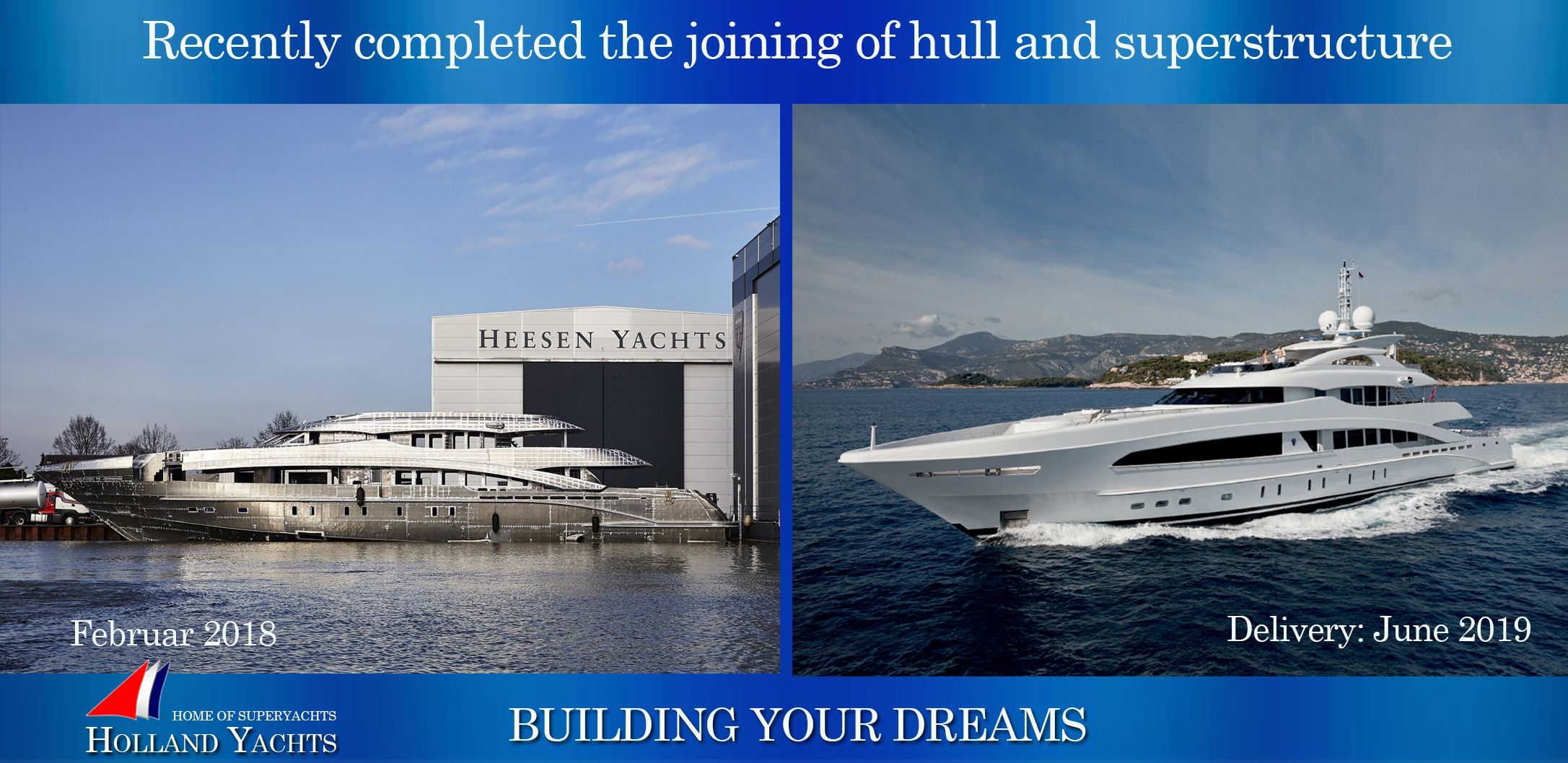 Pin By Holland Yachts On Superyachts In Production Reduced