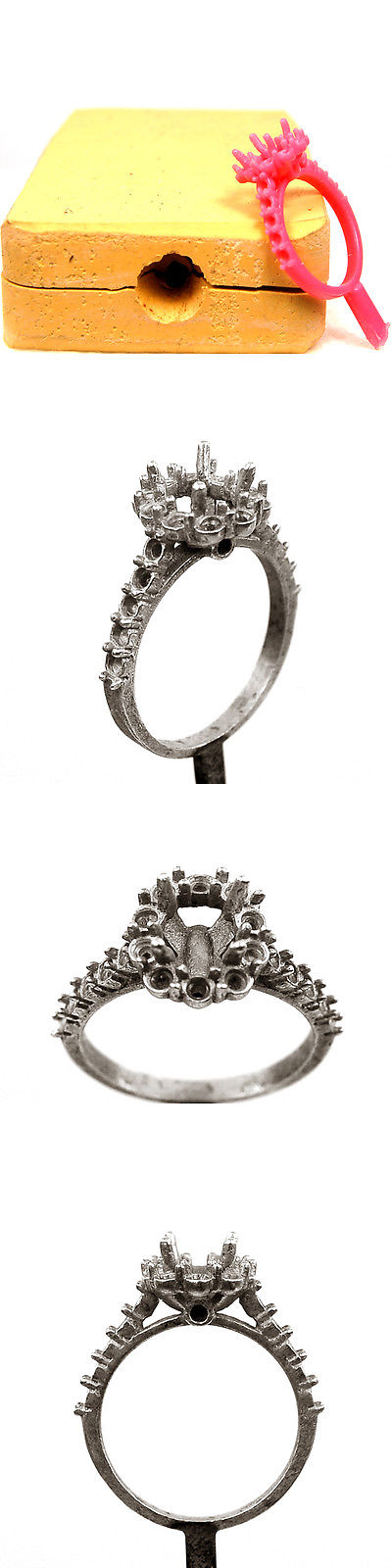 Jewelry Molds 67711: Engagement Ring - Jewelry Rubber Molds - Wax ...