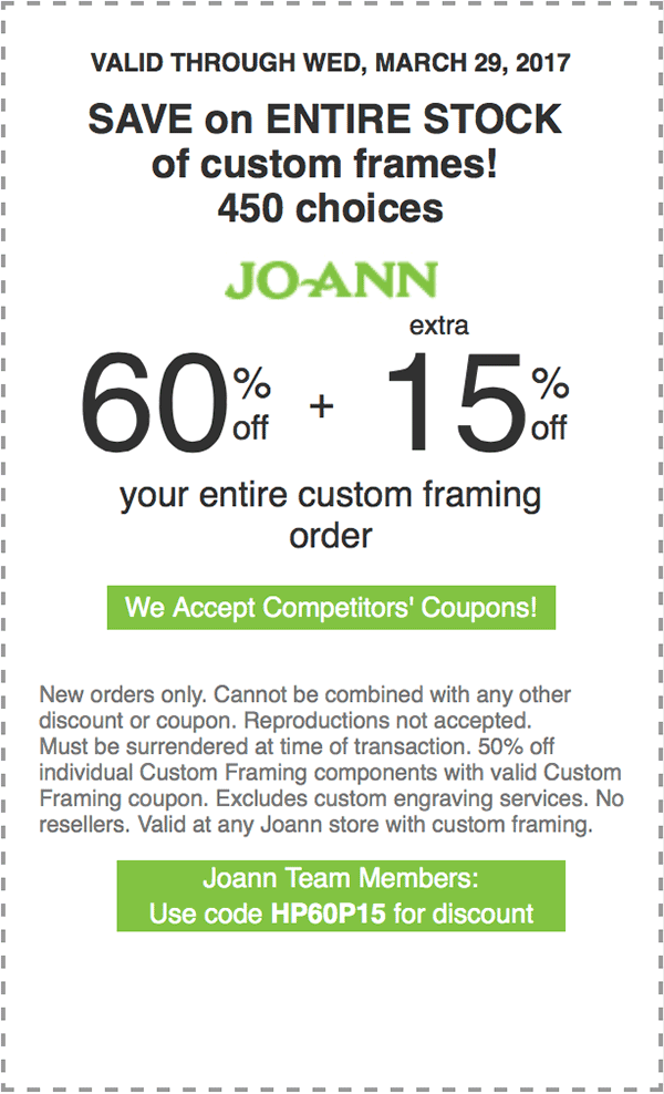 60% off + extra 15% off your entire custom framing order. | Sewing ...