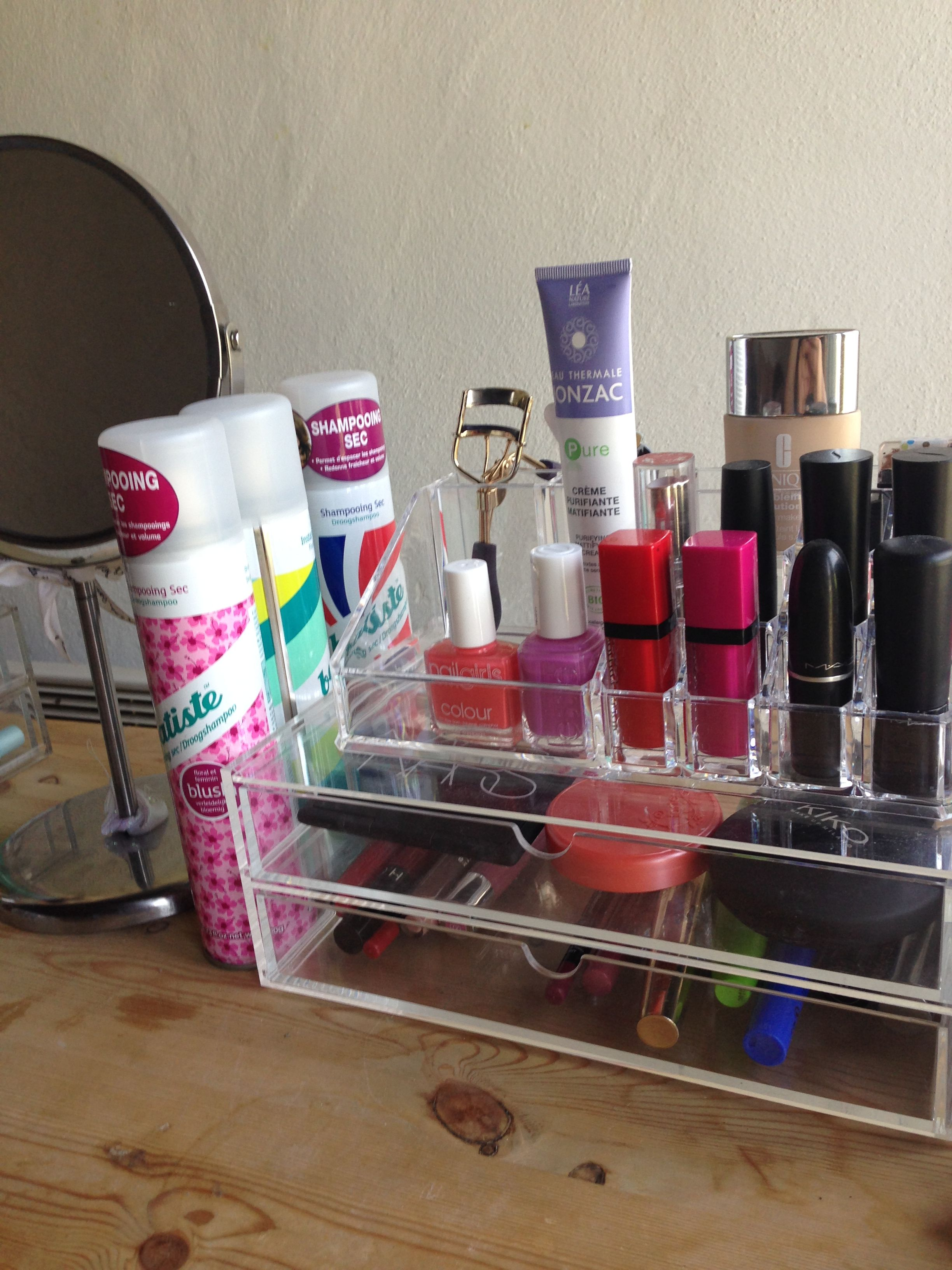 Rangements Acrylique, Muji My Muji Make Up Storage In Love With It Make Up