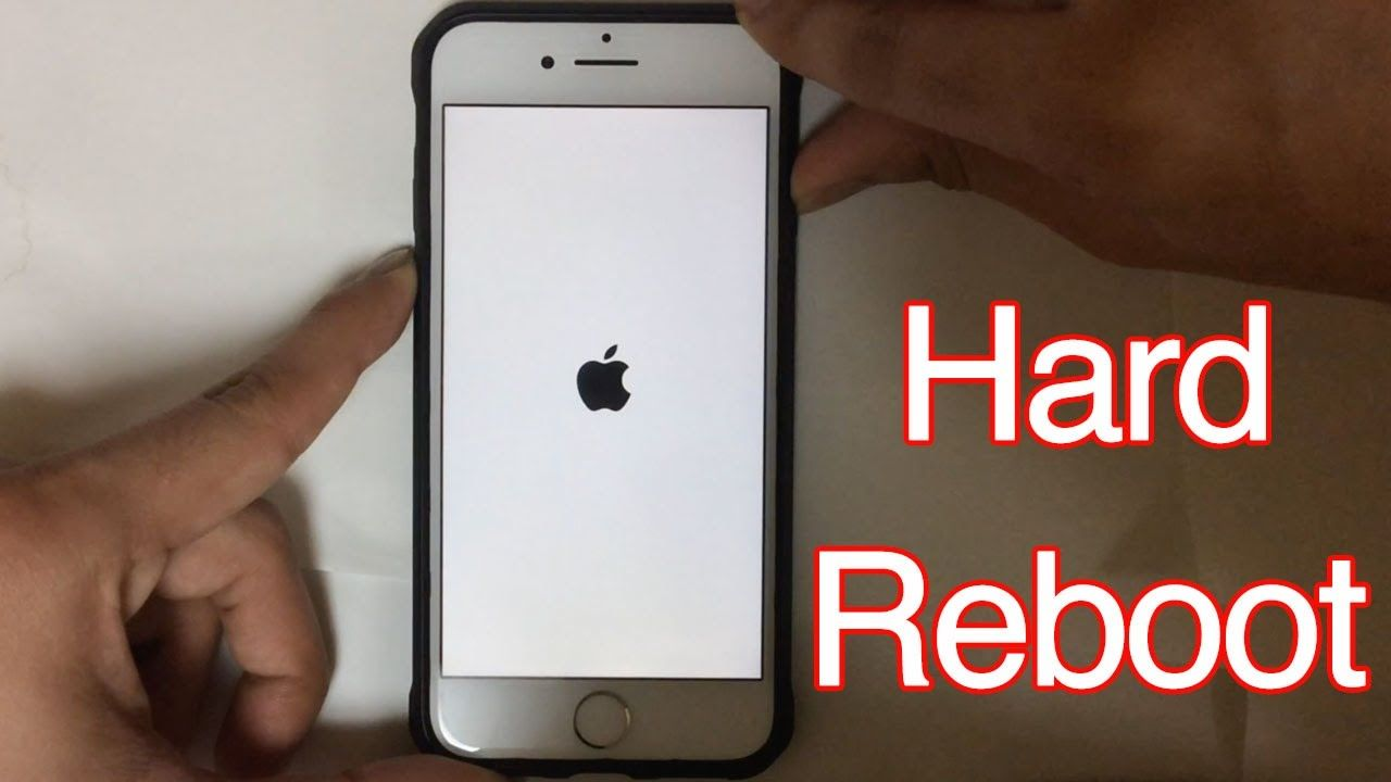 How To Force Reboot Iphone 7 Or Iphone 7 Hard Reset Method For Iphone Iphone Iphone 7 Plus Iphone 7