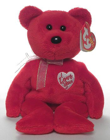 COCO PRESLEY Bears TY Beanie Babies Set of 2 - Orange /& Brown