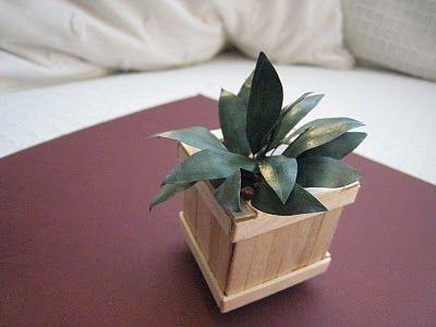 Tutorial - Tutorial miniature planter
