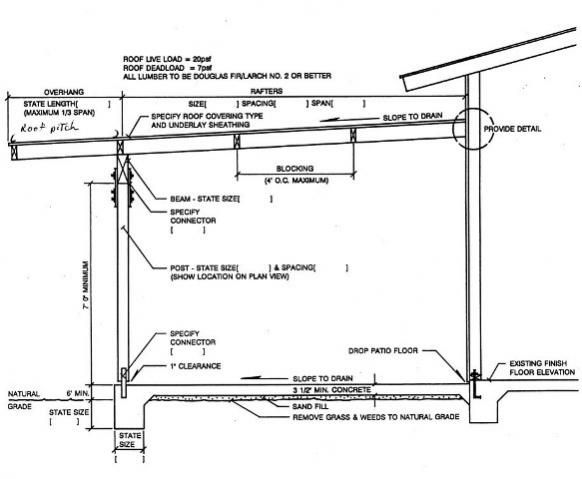Image Result For Patio Roof Plan Drawing Preda Gabriel