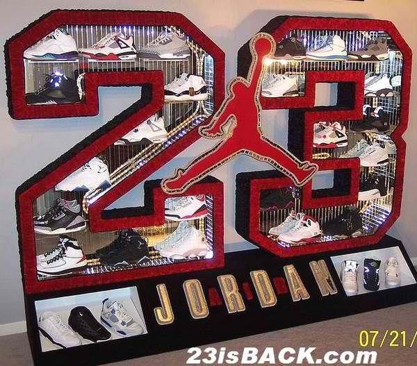 jordan shoe stand