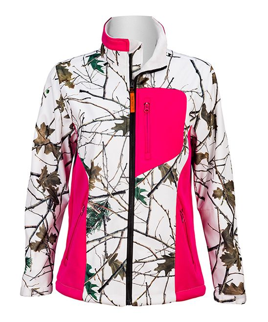 3be3c5ff9384d Pink & Camo XRG Soft-Shell Jacket | Products | Pink camo, Jackets, Camo