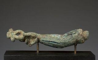 Bras tenant un signe ânkh provenant d'une statue en bronze - Ny Carlsberg Glyptotek