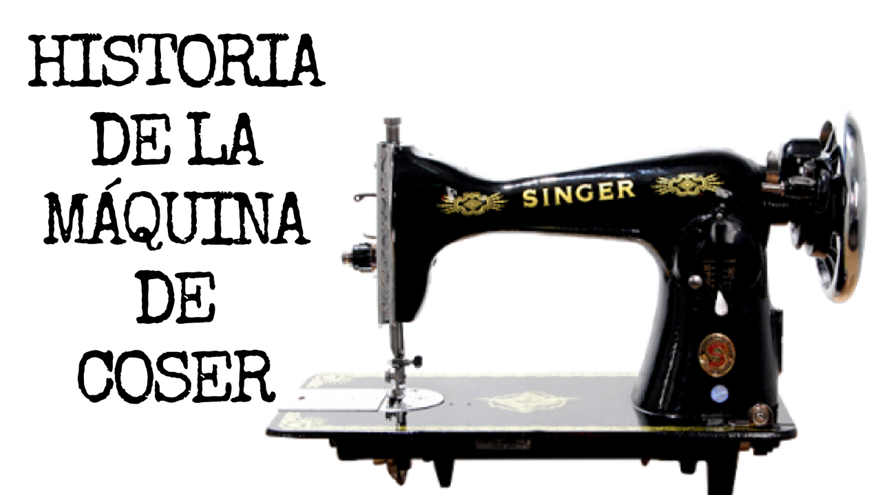 Historia de la máquina de coser y su inventor ️ Origen y
