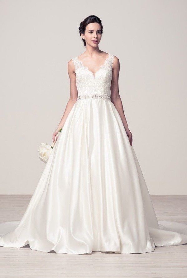 cced2dc9e46e Ball gown wedding dress online 106-wyw2141 | Products | Lace top ...