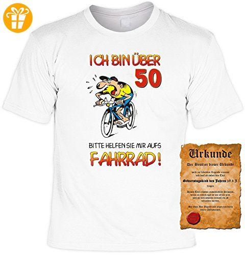 Geschenk zum 50. Geburtstag Sprüche Motiv Fun T-Shirt Geschenkidee Männer  auch in Übergrößen