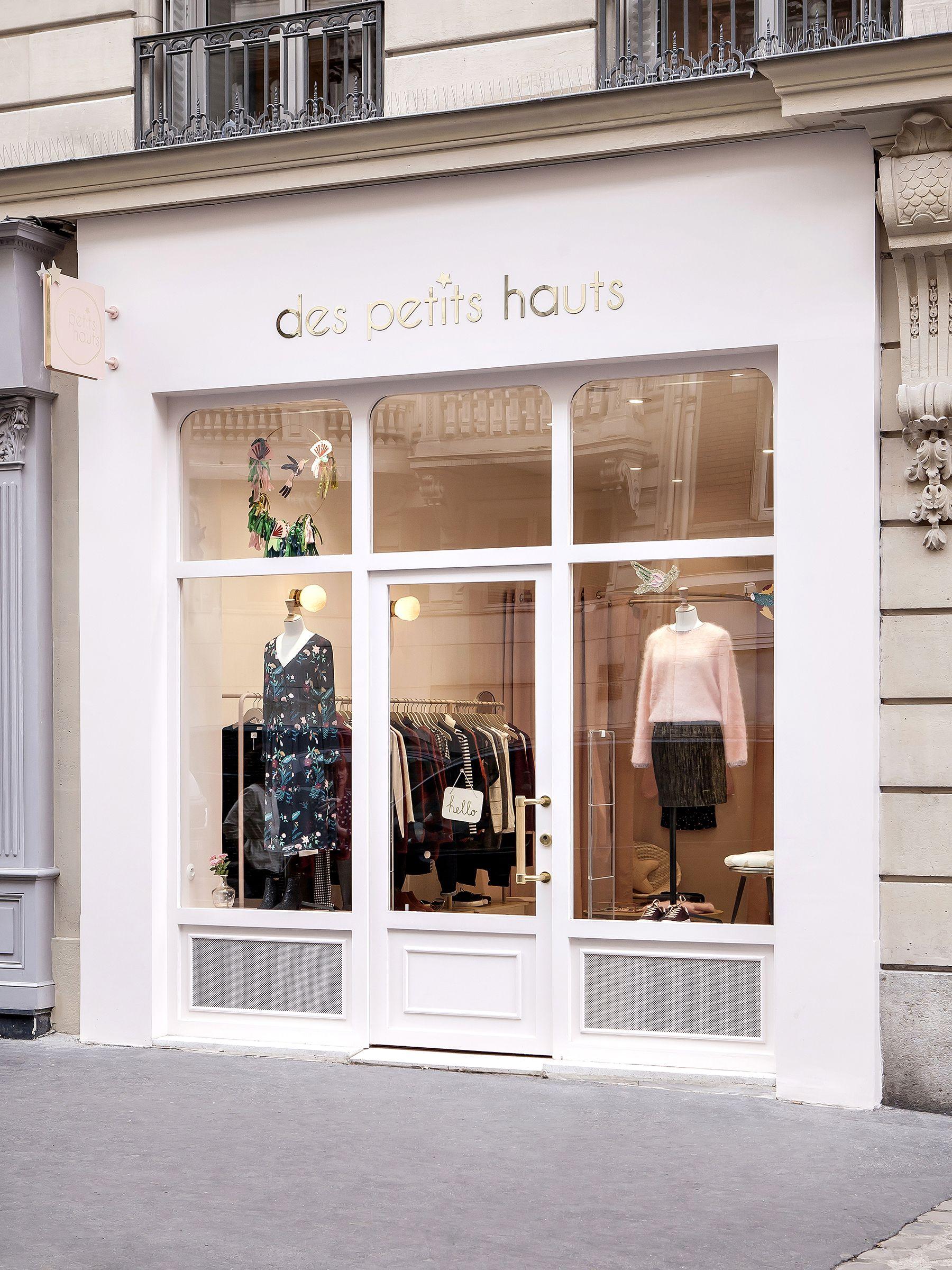 Renovation Boutique Des Petits Hauts A Paris Heju Studio Ide Dekorasi Rumah Desain Interior Rumah Arsitektur